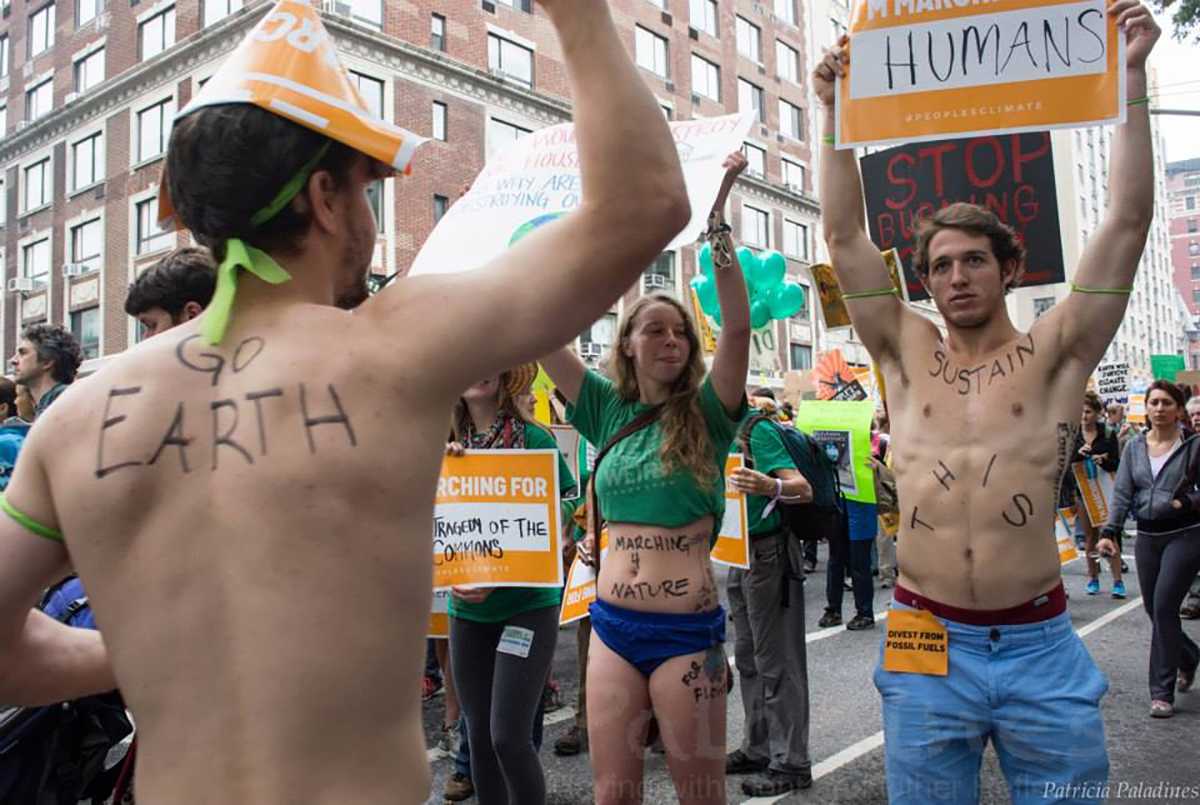 NYC Climate March 2014